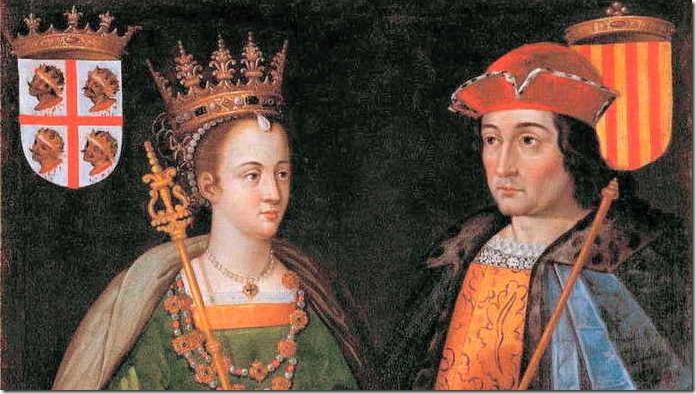 Monarquia Española - Fernando II de Aragon e Isabel de Castilla