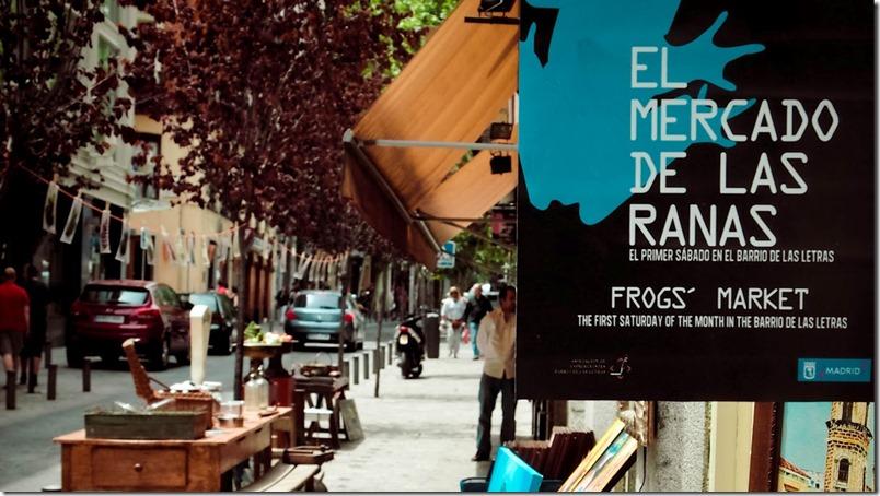 Mercado de las Ranas en el Barrio de las Letras - Madrid