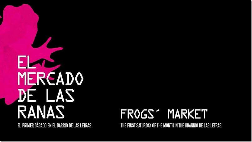 Mercado de las Ranas los Sabados en el Barrio de las Letras - Madrid