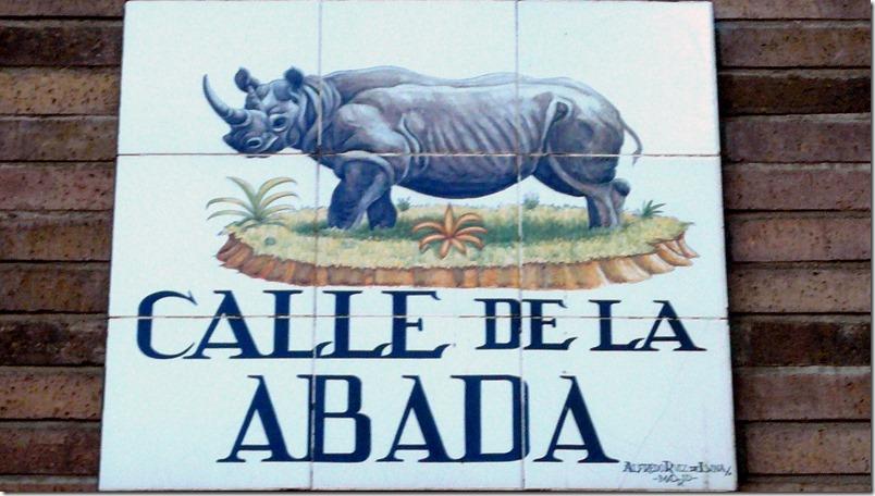 Calle de La Abada - Madrid - InmigrantesEnMadrid