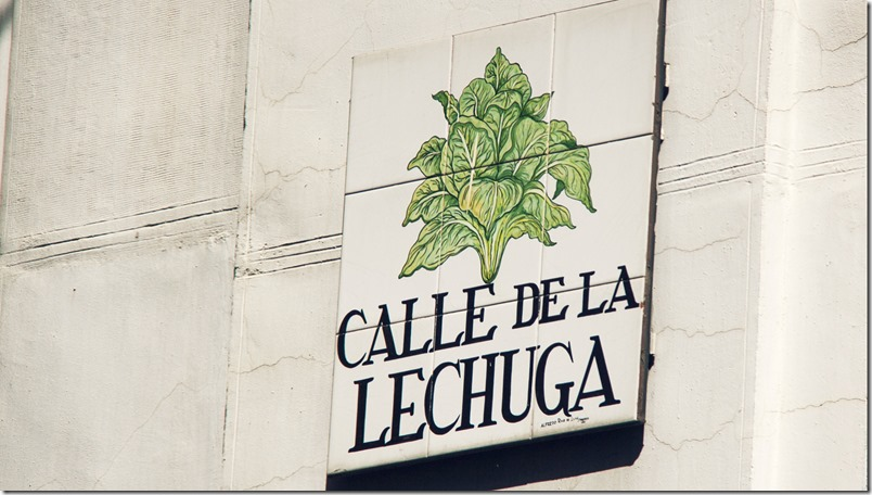 Calle de La Lechuga - Madrid - InmigrantesEnMadrid