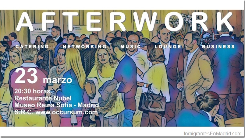 Macro Afterwork en el Reina Sofía, este 23 de marzo
