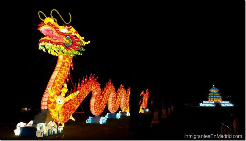 Taller y cuentos de dragones chinos en Madrid