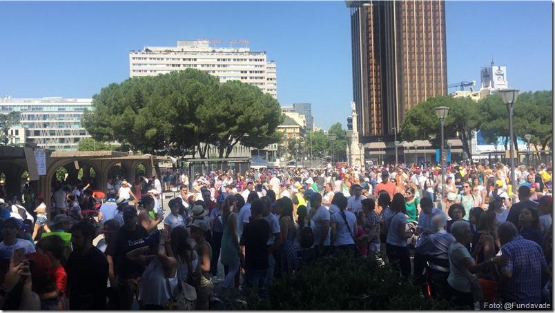 punto soberano en madrid - plaza colon