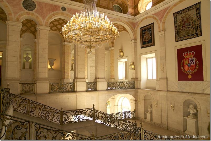 Escalera Real de el Palacio Real de Aranjuez.