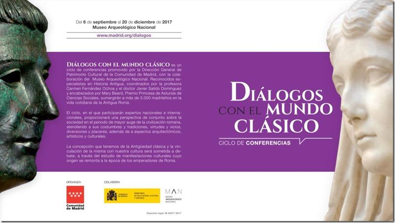 Conferencias sobre la historia de Roma en Madrid