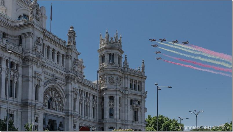 madrid-espana-aviones-bandera