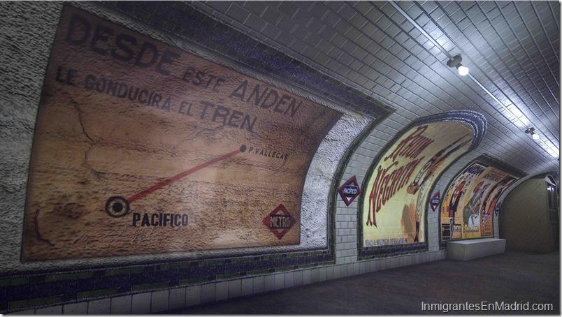 Metro de Madrid - El antiguo vestíbulo de la estación de Metro de Pacífico abre sus puertas al público todos los sábados del año - Metro de Madrid
