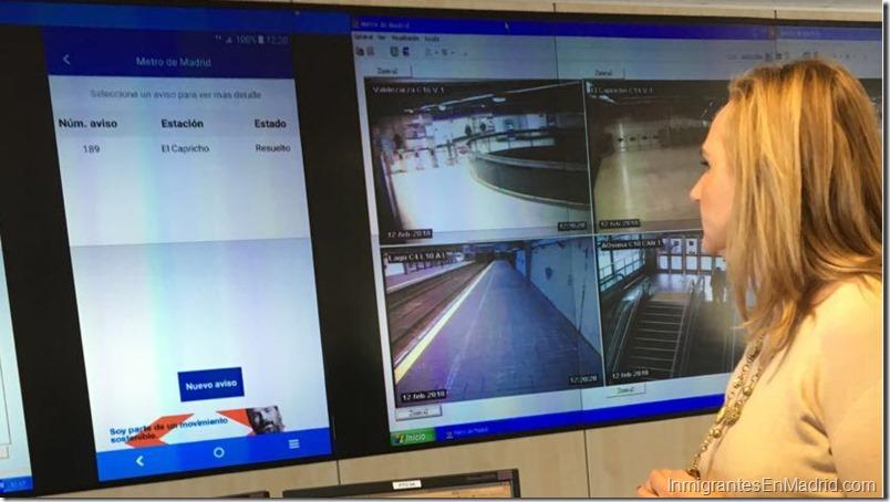 Los usuarios de Metro podrán generar avisos de limpieza de las estaciones gracias a una nueva funcionalidad de la APP