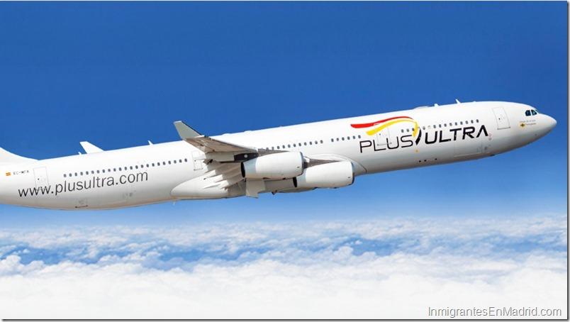 Plus Ultra Líneas Aéreas_avión