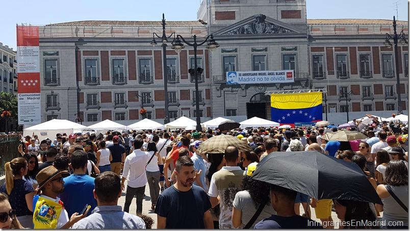 Población venezolana es la que más ha crecido en la Comunidad de Madrid