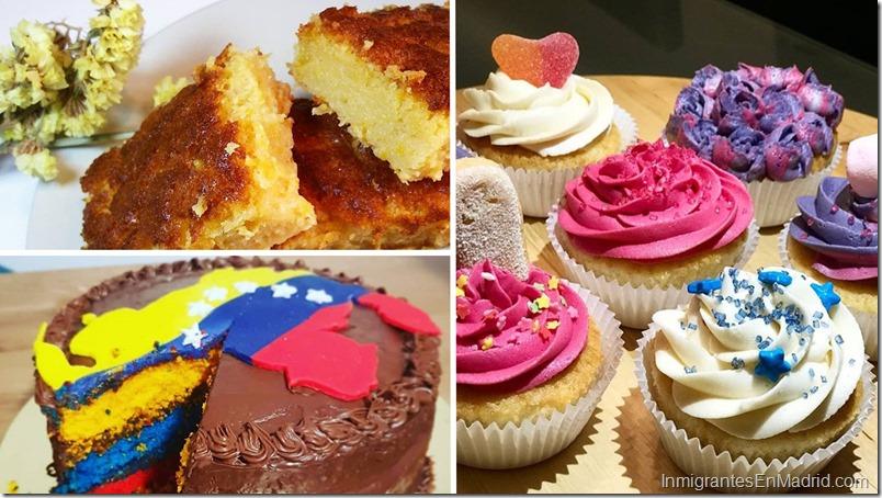 Tartas y cupcakes de Exquisita Tentacion en Madrid