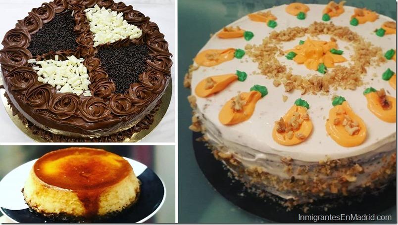 Tartas y quesillo de Exquisita Tentacion en Madrid-