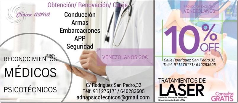 Clínica Adna ofrece descuentos a venezolanos en Madrid (4)