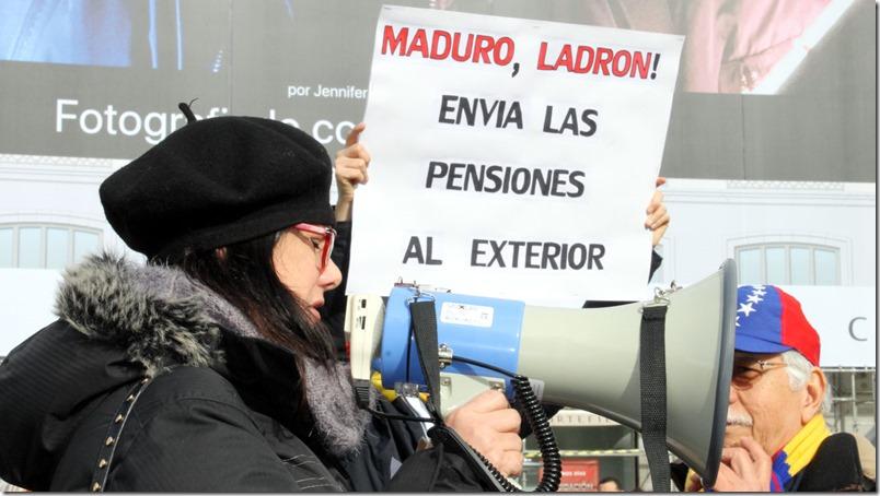 Pensionados y jubilados venezolanos en España se solidarizan con sus homólogos en Venezuela