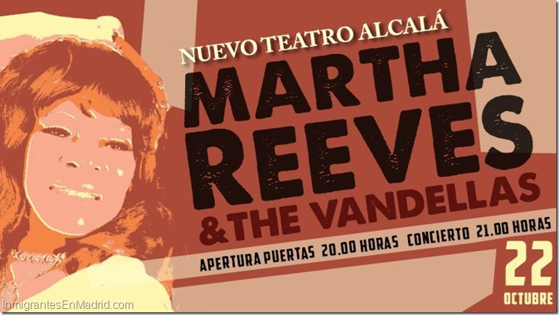 Martha Reeves & The Vandellas_ Madrid