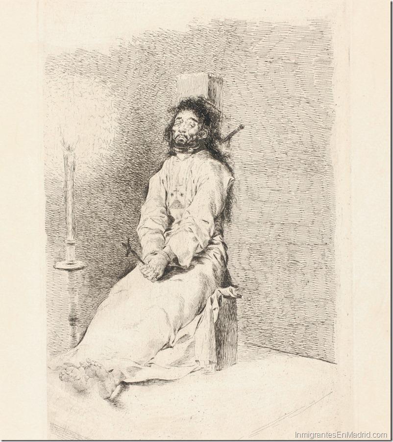Francisco de Goya_El agarrotado