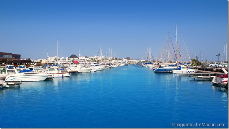 Lanzarote Marina Rubicon Playa Blanca
