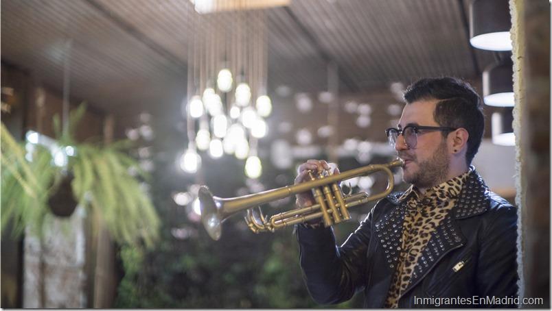 El trompetista Chipi Chacón se presenta en Madrid este 11 de julio
