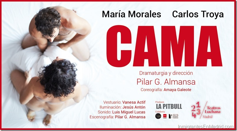 Teatros Luchana Madrid - Septiembre 2019 - Cama