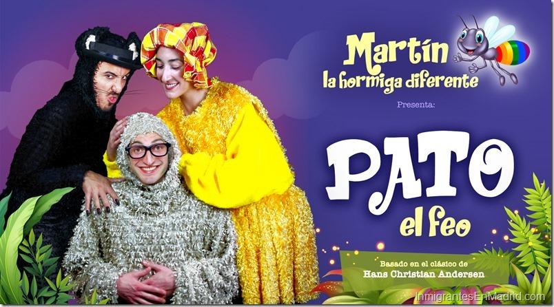 Teatros Luchana Madrid - Septiembre 2019 - Pato El Feo