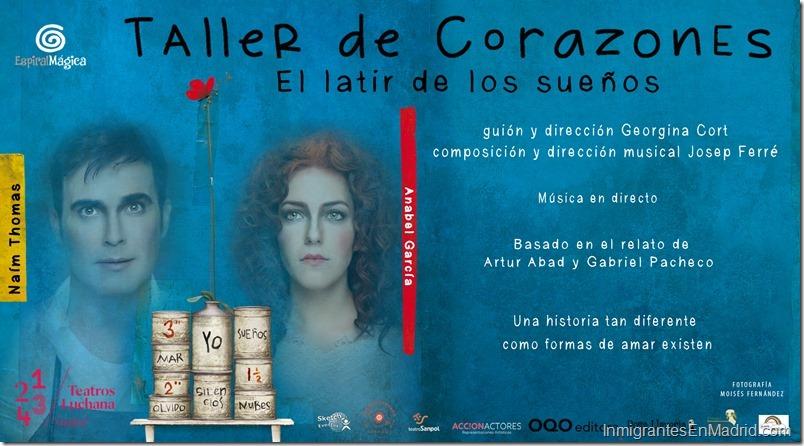 Teatros Luchana Madrid - Septiembre 2019 - Taller de Corazones