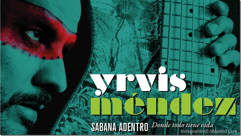 Venezolano Yrvis Mendez concierto en Madrid 1