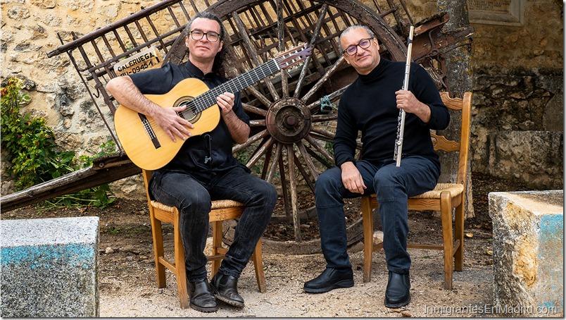 Omar Acosta y Sergio Menem de concierto en la sala Clamores